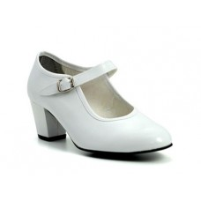 White Flamenco Shoes