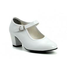 Zapato flamenco Blanco
