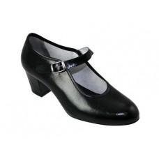 Zapato baile flamenco negro