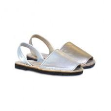 Metallic Minorcan sandals - RIA
