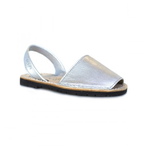 Metallic Minorcan sandals - RIA