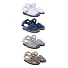Glitter Riptape Minorcan shoes 361