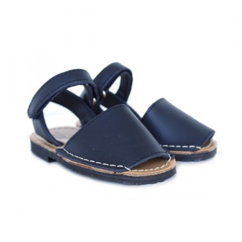 Children Menorcan shoes velcro 361 Navy
