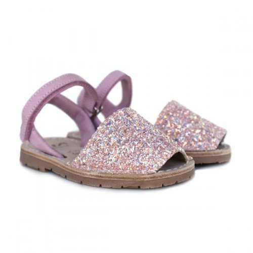 Glitter minorcan shoes Ria 20090-21224