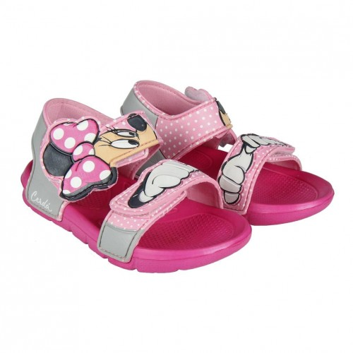 f112955ac Beach Sandals for girls with Minnie Mouse design by Cerdá 3057