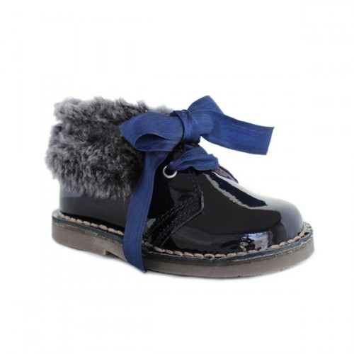Girls boots with hair Dar2 50090