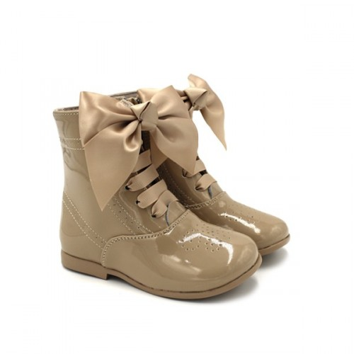 Girls ankle boots Bubble Bobble 1796 Sand