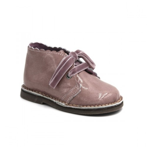 Girls patent leather desert boots DAR2 50006