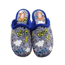 Boys slippers BOOM Ralfis 8134