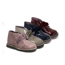 Girls patent leather boots DAR2 50006