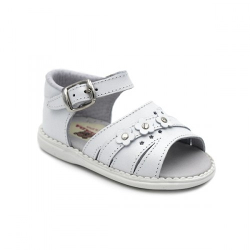 Spanish leather sandals for girls 337