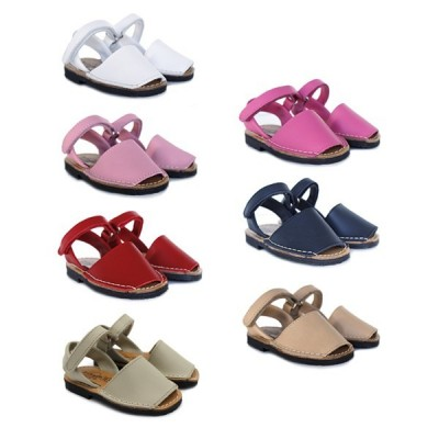 Children Menorcan shoes velcro