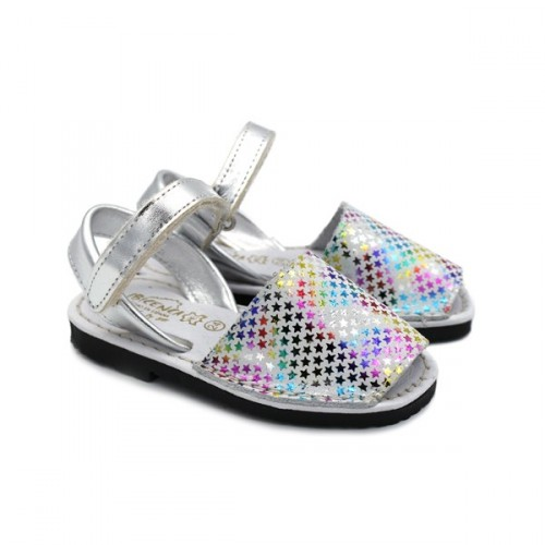Padded minorcan sandals STARS 9361