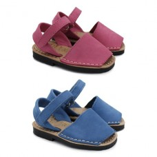 Nubuck leather Minorcan sandals 9361
