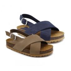 Boys nubuck bio sandals HERMI 11308