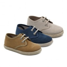 Boys blucher cut-out Tokolate 2161-58