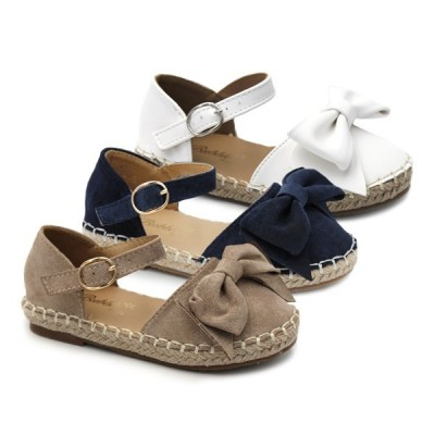 Girls espadrilles bow Bubble Kids 2432
