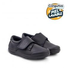 Zapato colegial lavable Conguitos Marino