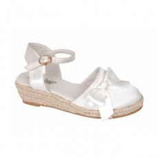 Satin espadrilles Bubble Kids 2541