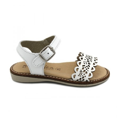1b8899ce614b Sandals for girl made in national leather by Mari Chica 403