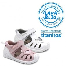 Girl sandals Titanitos 680 Cynthia