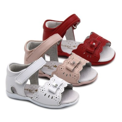 Girls leather sandals Bubble Kids 560