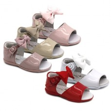 Girls leather sandals Bubble Kids 1892
