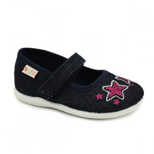 Canvas mary jane for girls Ralfis 6180