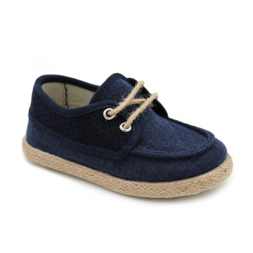 Canvas deck shoes cords Batilas 417