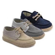Canvas deck shoes cords Batilas 417