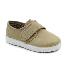 Canvas shoes with velcro 132