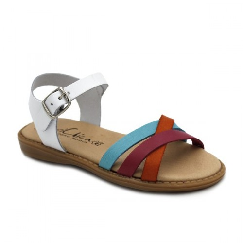 Girls leather sandals 424
