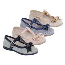 Girls ballet flat line Tokolate 1162