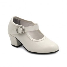 Zapato flamenco Beige