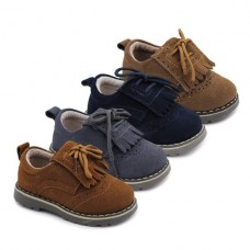 Boys leather blucher Bubble kids 2105