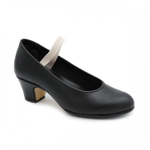 Semiprofessional flamenco shoes