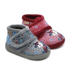 Girls slippers UNICORN Ralfis 6214