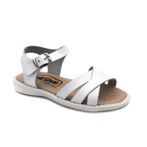 Girls buckle sandals Hermi MC424 White
