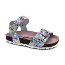 Girls bio sandals Hermi MC526 Silver
