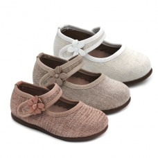 Linen mary jane Bubble Kids 2862