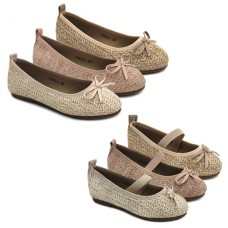 Girls raffia mary jane Bubble Kids 2920