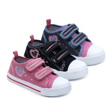 Zapatilla lona velcro Bubble Kids 2779