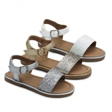 Girls glitter sandals Bubble Kids 2893