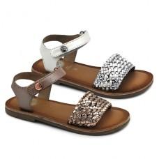 Sandalias metalizadas Gioseppo Vietri
