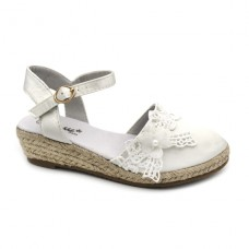 Girls espadrilles Bubble Kids 2542 White