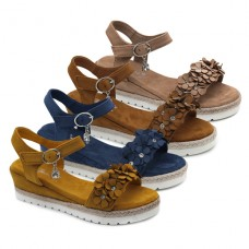 Sandalias florecitas Bubble Kids 2881