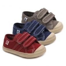 Zapatillas velcro niñas AN8040