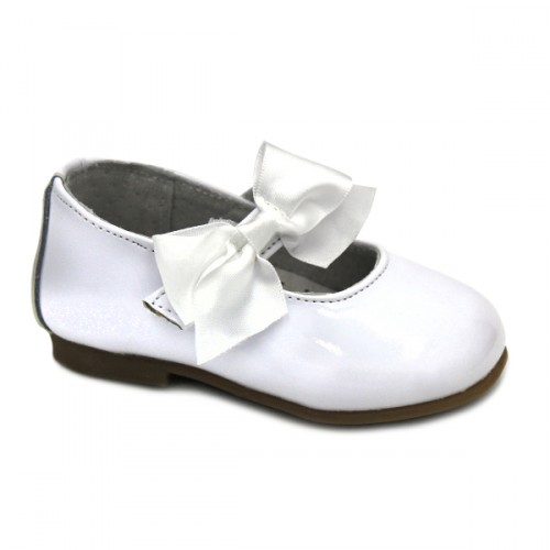 Girls mary jane Bubble Kids 1804 WHITE