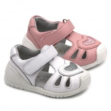 Girl leather sandals Bubble Kids 2909