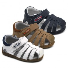 Leather sandals Bubble Kids 2914